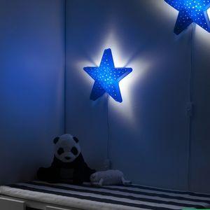 🌟 NWT (2) Star Lights, Wall Lamp